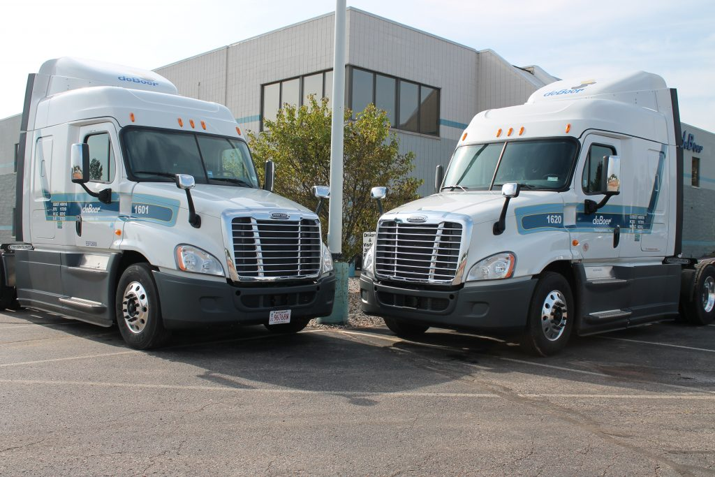 de Boer Transportation Outstanding Driver Trucks 002