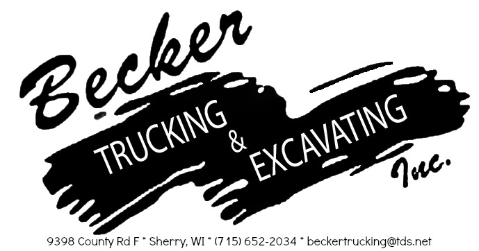 Becker Trucking & Excavating Logo