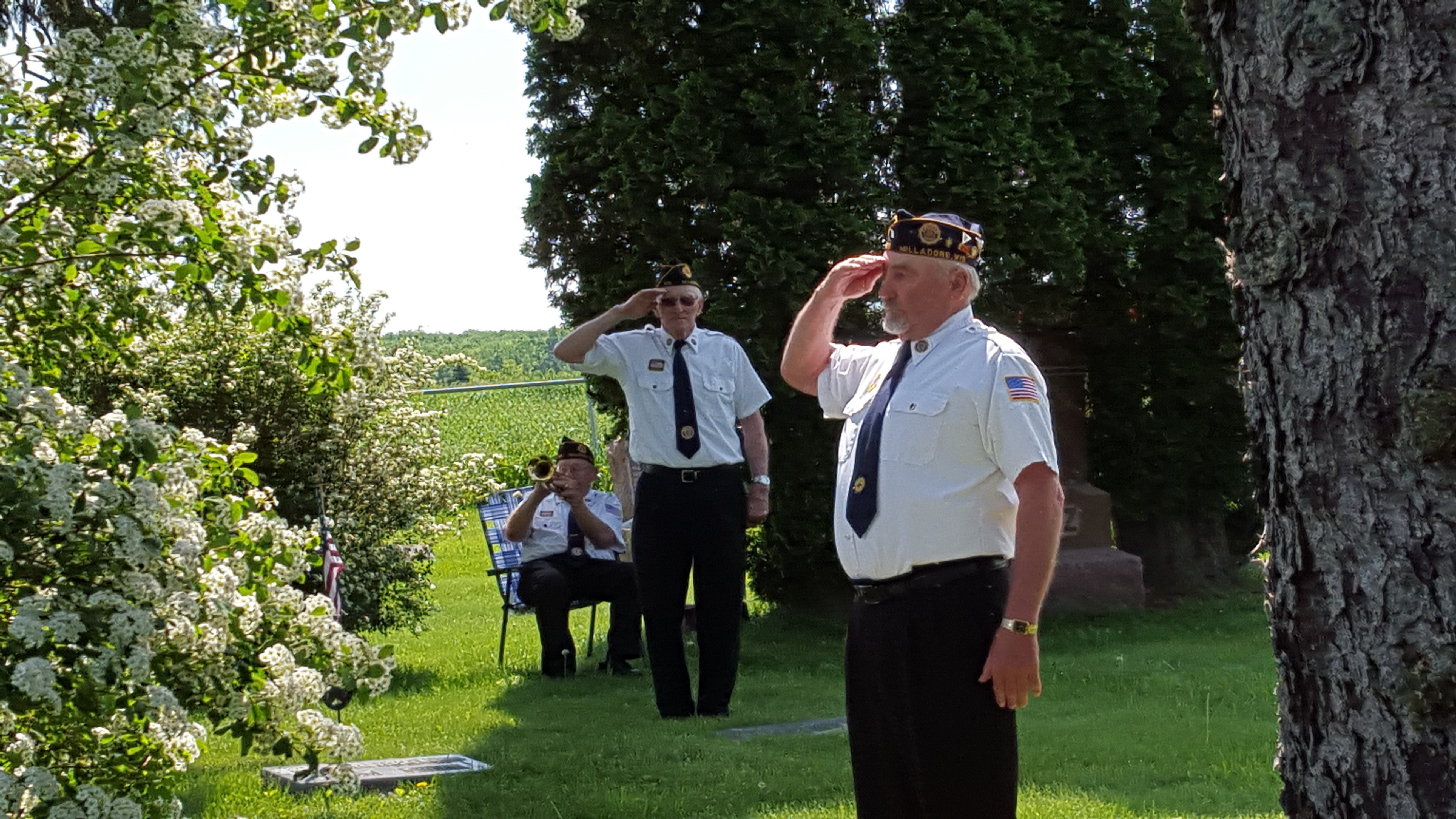 VFW Ceremony at Fairview Cemetery - 5-30-2016